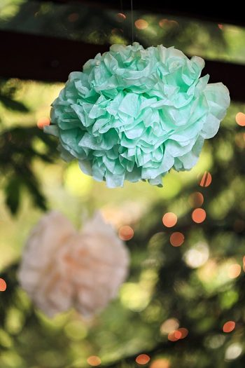 paper pom | Snowbird Utah Wedding Logan Walker Photography