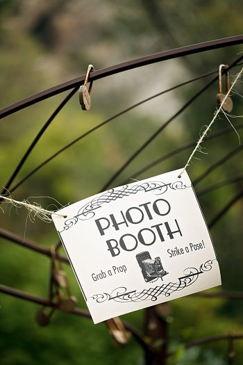 photobooth sign | Snowbird Utah Wedding Logan Walker Photography