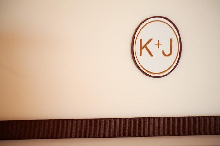 modern kate monogram | Deer Valley Utah Wedding | Pepper Nix Photography