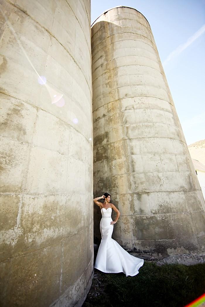 Bride portrait | Deer Valley Utah Wedding | Pepper Nix Photography