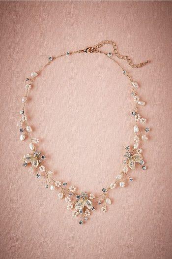 Fiora Necklace   BHLDN