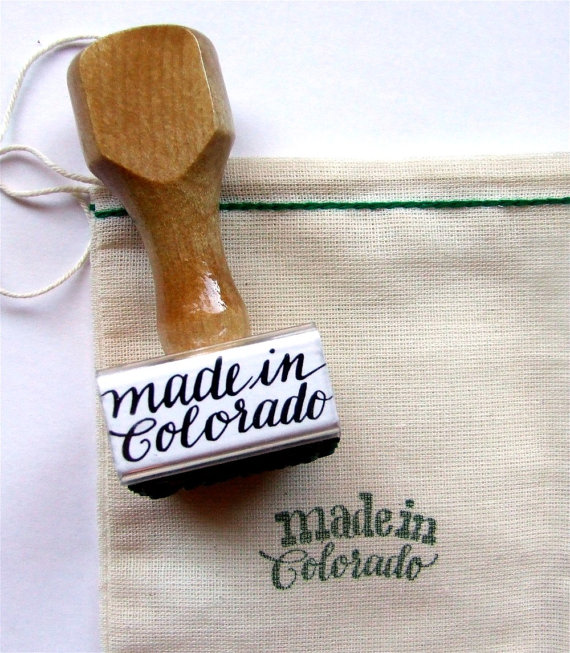 Wedding stamp | Made in Colorado