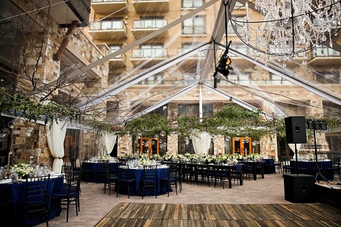 navy and ivory wedding ideas | Park City Utah Wedding | Pepper Nix Photography