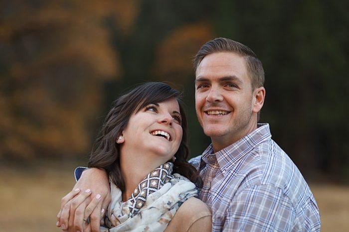 13 Fall Engagement In Yosemite | Bergreen Photography | Via MountainsideBride.com