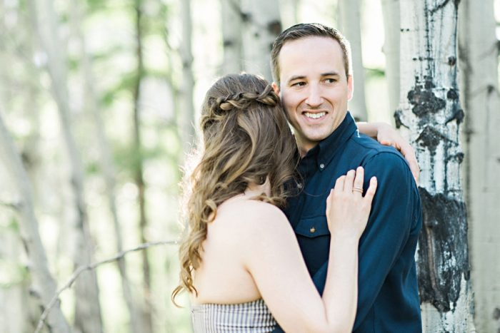 Canmore Engagement Session By Candace Berry Photography | Via MountainsideBride.com