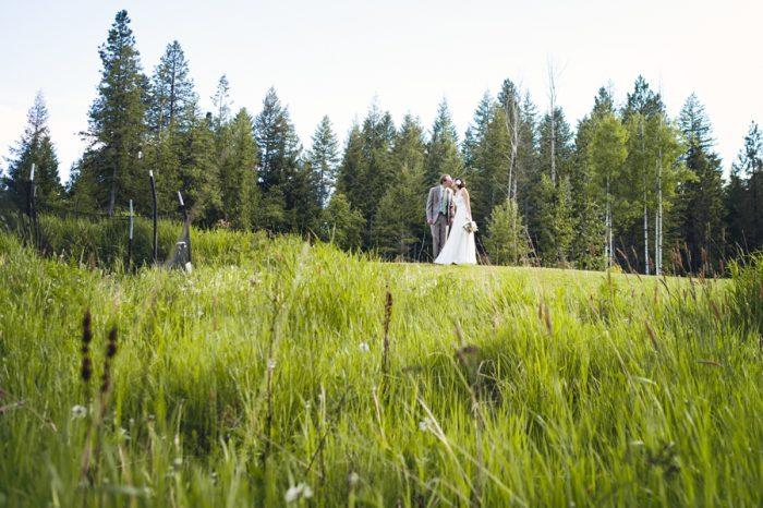 28 Portraits Field Sandpoint Idaho Mountain Wedding Amy Galbraith Photography   Via MountainsideBride.com