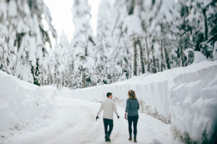 Snoqualmie Engagement Christina Klas Photography | Via MountainsideBride.com