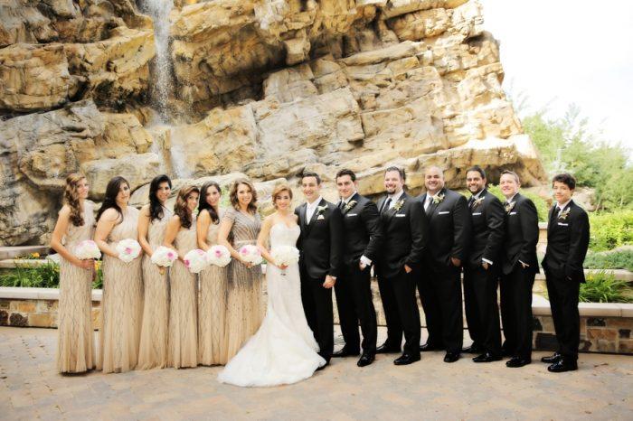 Bridal Party | Elegant Park City Wedding St Regis Logan Walker Photography | Via MountainsideBride.com