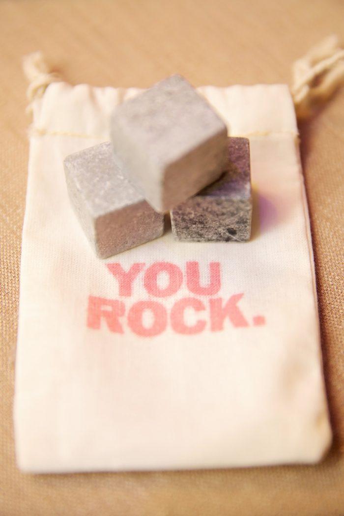 Whiskey Rocks Guest Gift Idea | Elegant Park City Wedding St Regis Logan Walker Photography | Via MountainsideBride.com