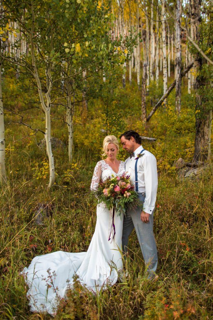 Vail Wedding Inspiration Piney River Ranch Aldabella Photography | Via MountainsideBride.com
