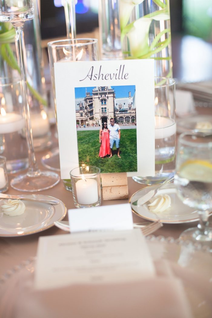 24 Asheville Event Co Table Names | Via MountainsideBride.com
