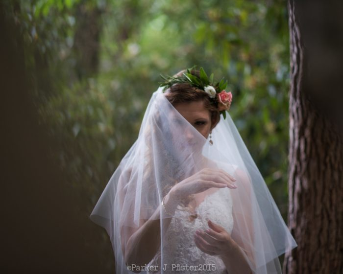 Woodland Bride NC Wedding | Parker J Pfister |via Mountainside Bride
