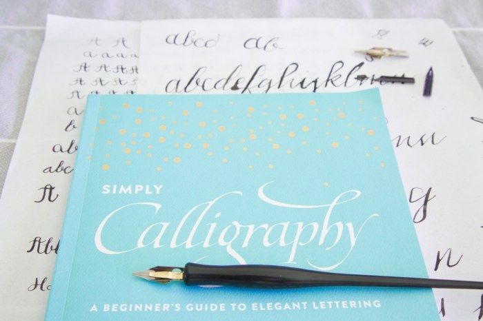 Simply Calligraphy: A Beginners Guide to Elegant Lettering