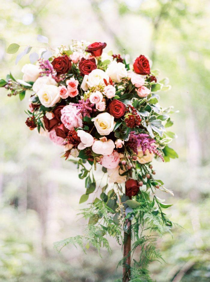 12 Spence Cabin Intimate Wedding | JoPhoto | Via MountainsideBride.com