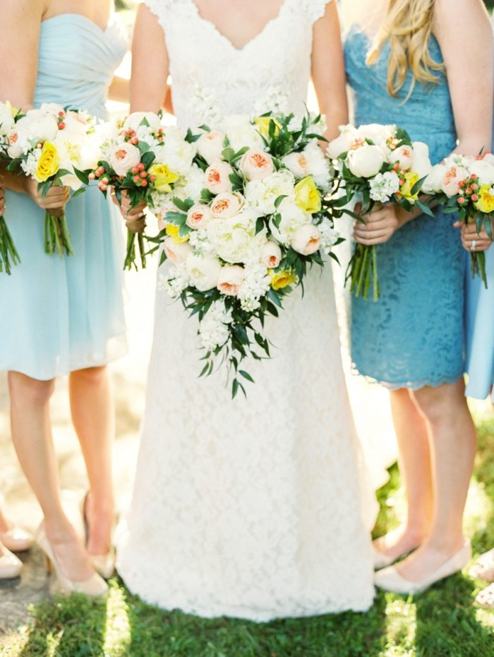 16 Bouquets Daras Garden Tennessee Wedding Jophoto Via Mountainsidebride Com