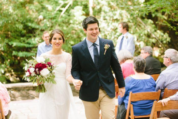18 Spence Cabin Intimate Wedding | JoPhoto | Via MountainsideBride.com