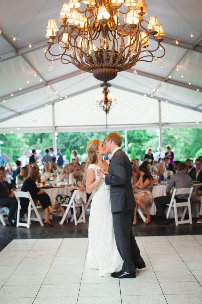31 First Dance Daras Garden Tennessee Wedding Jophoto Via Mountainsidebride Com