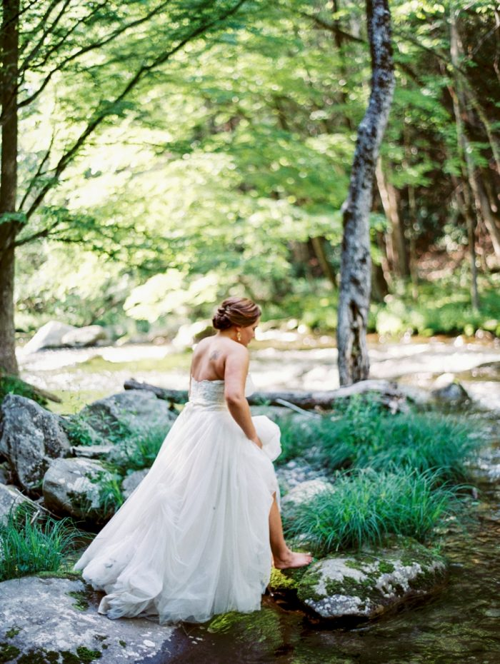 8 Spence Cabin Rennessee Wedding Johoho Via Mountainsidebride Com