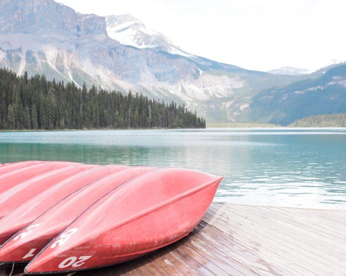 3 Emerald Lake Canadiian Rocky Mountain Styled Shoot