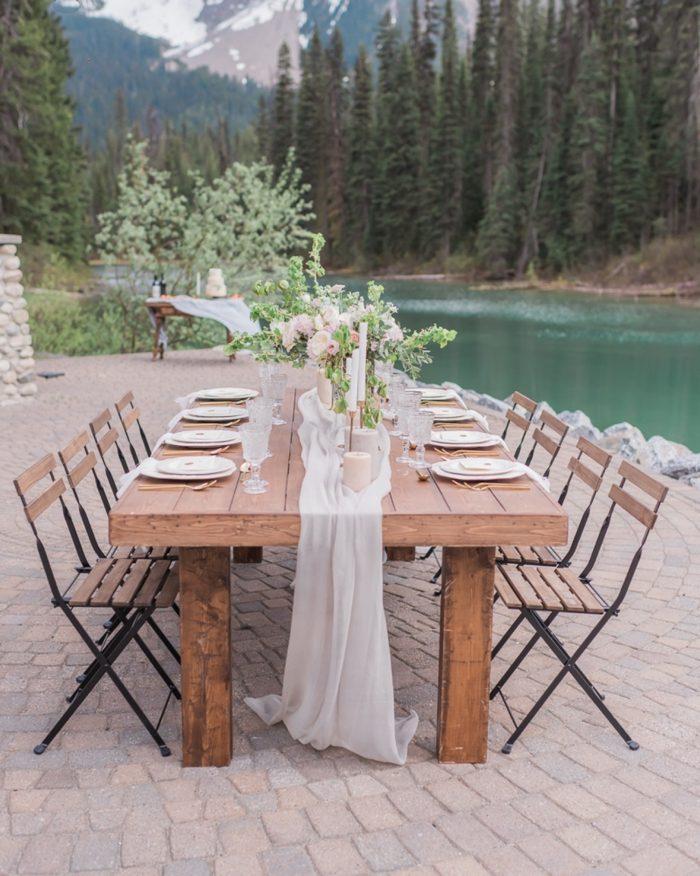 7 Emerald Lake Canadiian Rocky Mountain Styled Shoot