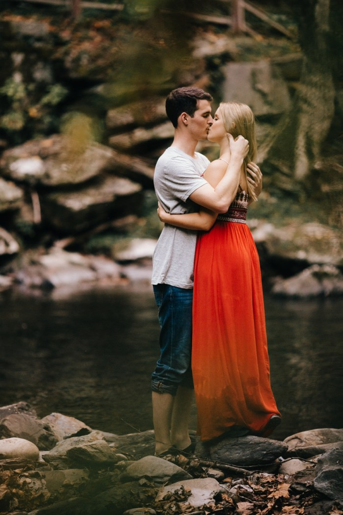 21 Smoky Mountain Engagement Session Erin Morrison Photography Via MountainsideBride.com