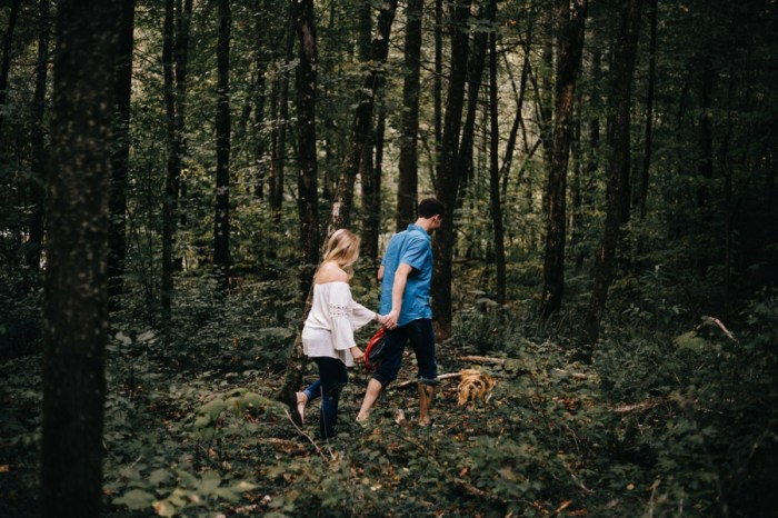 6 Smoky Mountain Engagement Session Erin Morrison Photography Via MountainsideBride.com