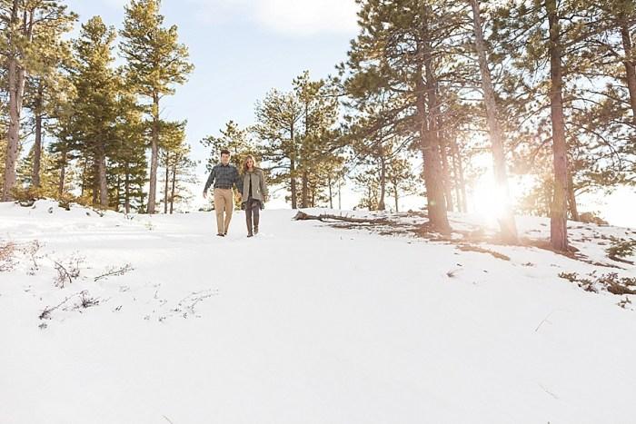 1 Boulder Colorado Winter Engagement Bergreen Photography Via Mountainsidebride Com