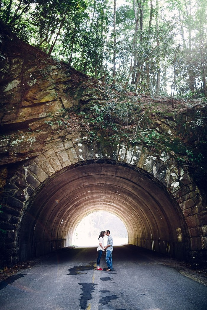 10 Cades Cove Engagement | Red Boat Photogrpahy | Via MountainsideBride