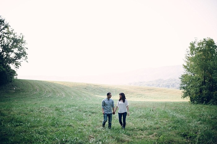Misty and Wonderful Cades Cove Engagement