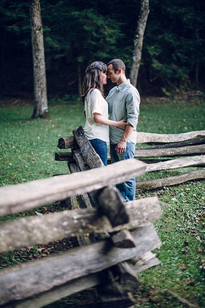 8 Cades Cove Engagement | Red Boat Photogrpahy | Via MountainsideBride