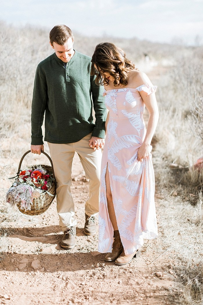 16 Valentines Engagement Loveland CO | Sarah Porter Photography | Via MountainsideBride.com