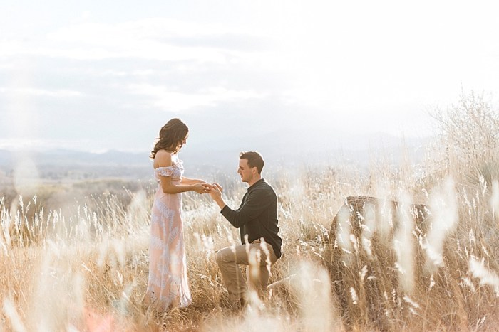 9 Valentines Engagement Loveland CO | Sarah Porter Photography | Via MountainsideBride.com