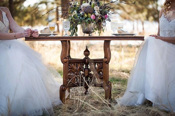 15 Colorado Same Sex Boho Wedding Inspiration | Katie Keighin Photography |via MountainsideBride.com