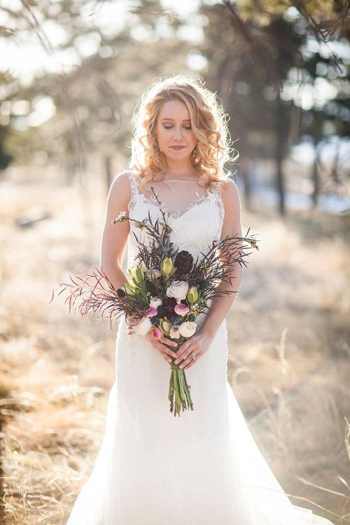 22 Colorado Same Sex Boho Wedding Inspiration | Katie Keighin Photography |via MountainsideBride.com