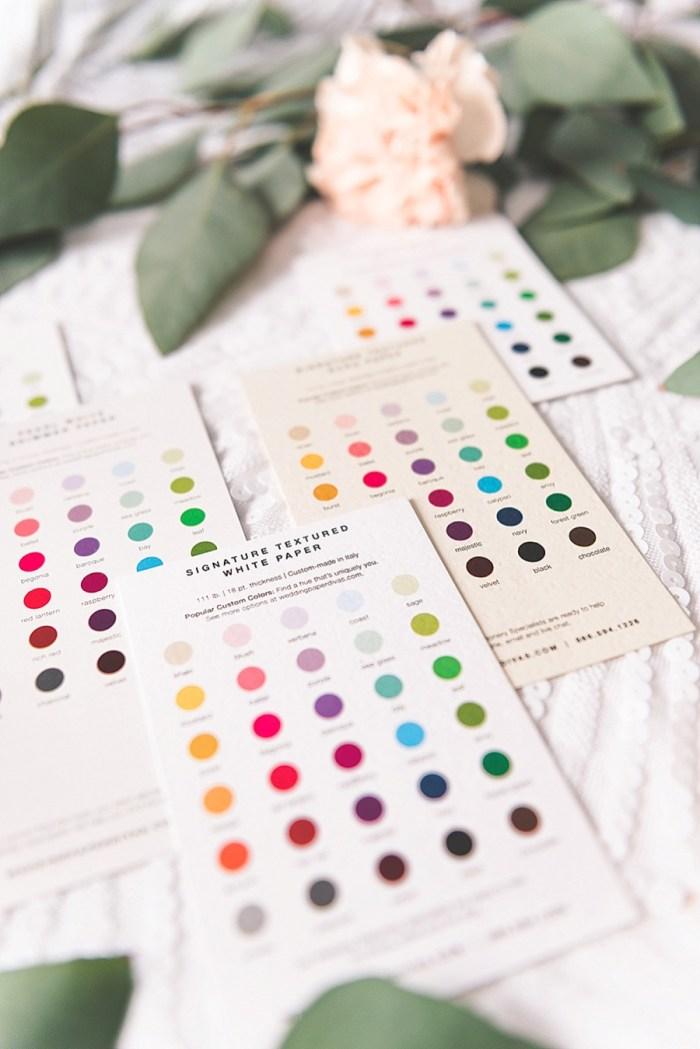 6 Wedding Paper Divas Sample Kits (15)