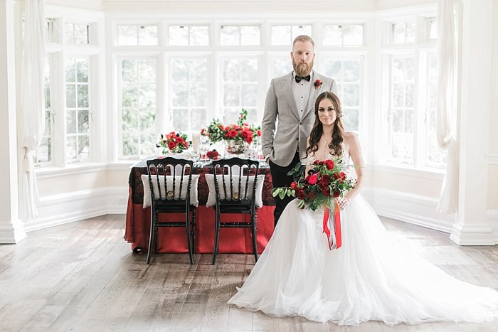 Canada 150 Canadiana Wedding Editorial Shoot