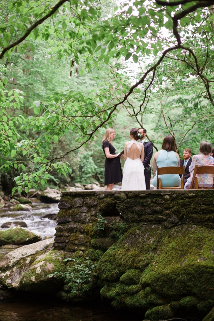 Smoky Mountain Elopement by the River