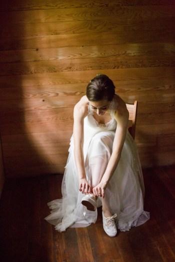 7 Bridal Keds Spence Cabin Elopement JoPhotos Via MountainsideBride.com