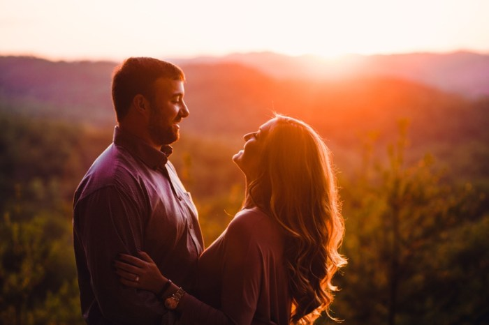 Surprise Engagement at Butterfly Gap