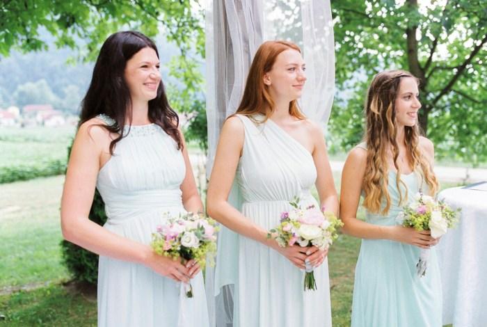 16 Ceremony Colorful Austrian Wedding Theresa Pewal Via MountainsideBride.com