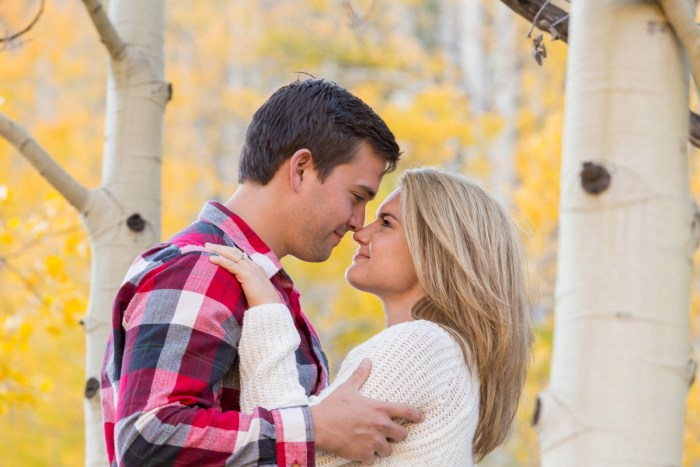 17 Fall Engagement In Vail Colorado Bergreen Photography Via MountainsideBride