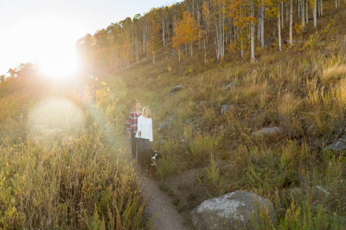 9 Fall Engagement In Vail Colorado Bergreen Photography Via MountainsideBride