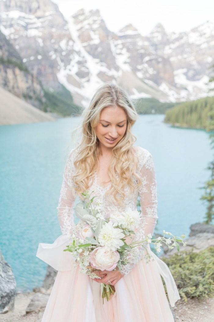 11 Banff Anniversay Ashley Tyler Anniversary KIR2BEN Via MountainsideBride.com