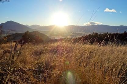 Sunrise hike up Mt Iron