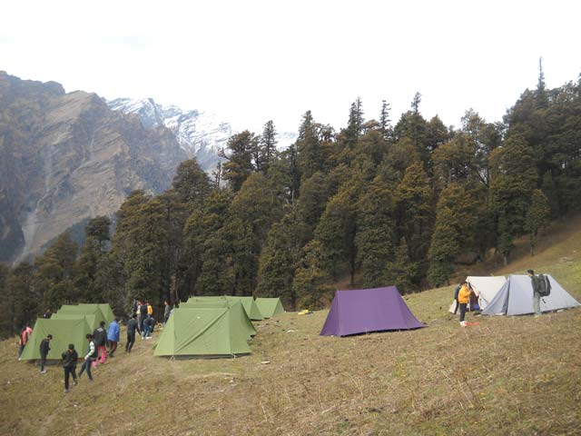 Bhrigu Lake and Trekking in Manali, Silver Oak Camp