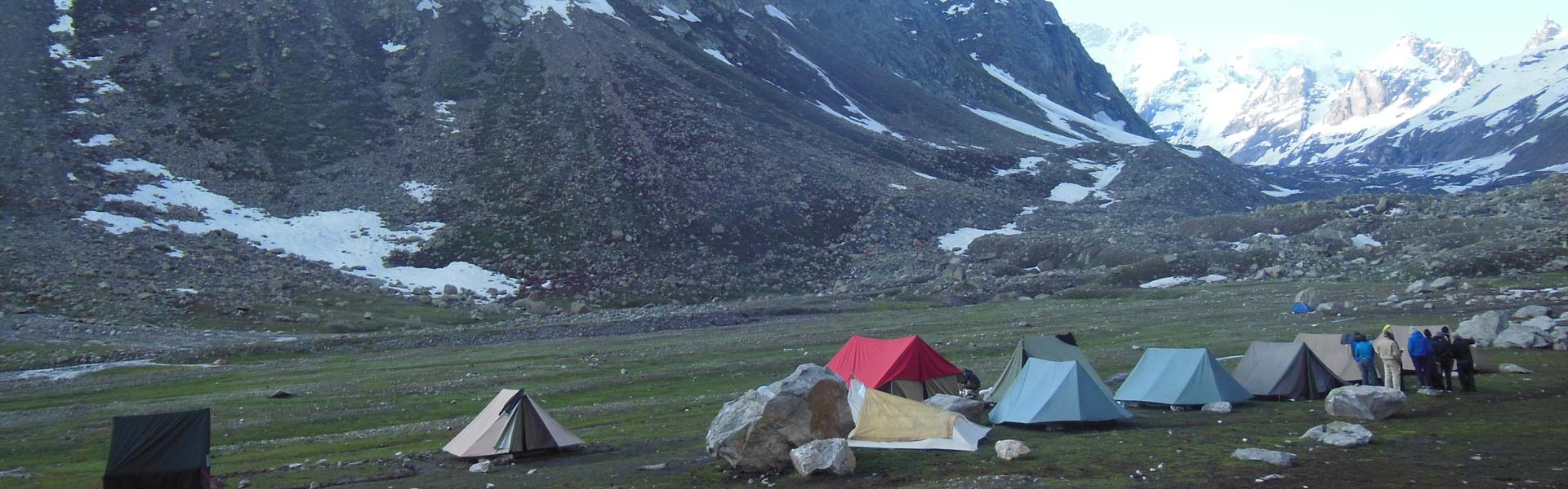 Bhrigu Lake and Trekking in Manali, Camping