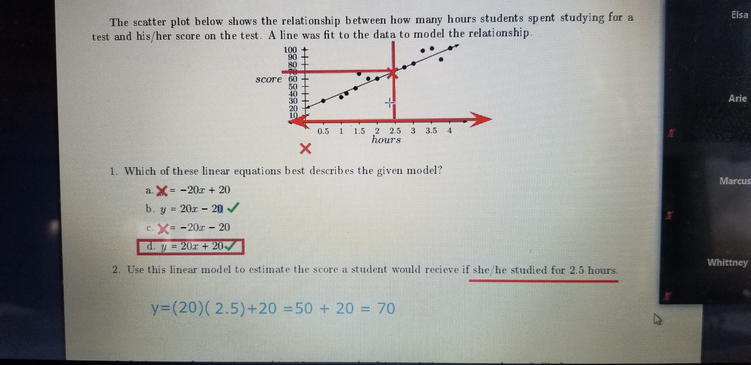 See Adapted Worksheet For Problem 3