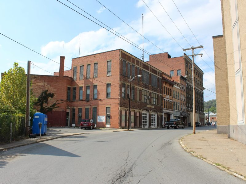 Fairmont's old city hall and fire department is currently vacant, but the city hopes to redevelop it. Photo courtesy City of Fairmont.