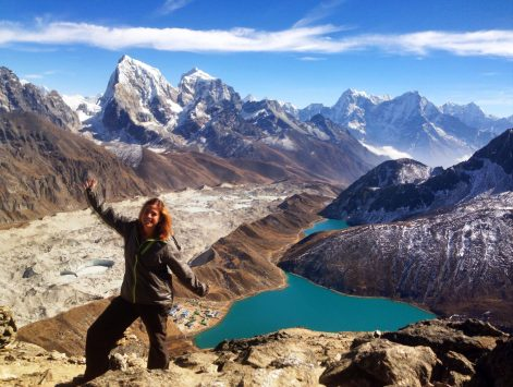 On Gokyo Ri in the Everest region.