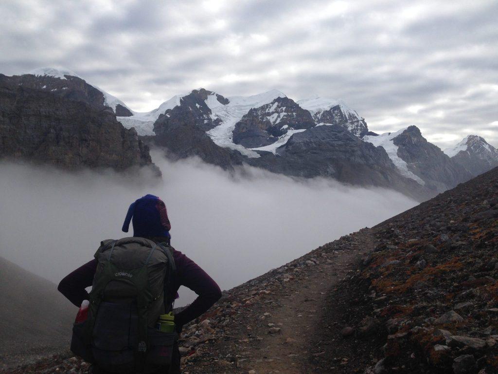 Somewhere around 17,000 feet in the Annapurnas.